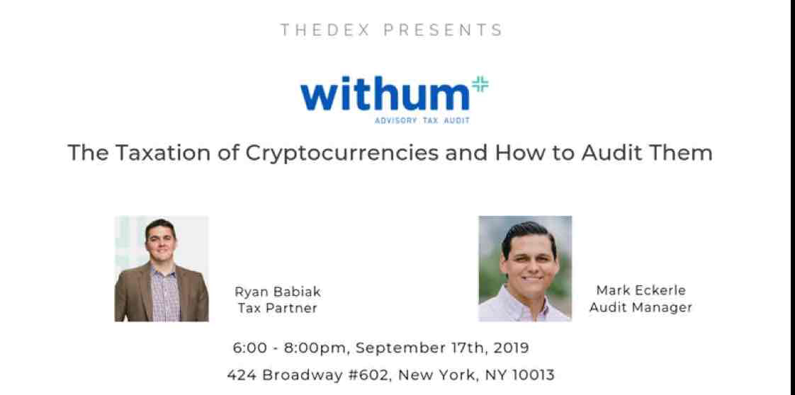 event image The Taxation of Cryptocurrencies and How to Audit Them