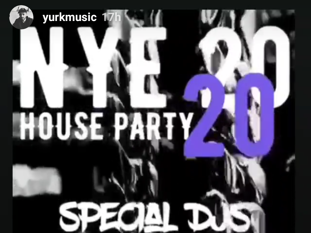 event image Nye techno houseparty
